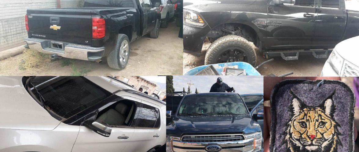 Aseguran vehículos, droga y municiones en Buenaventura