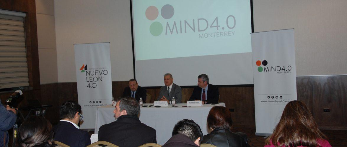 Nacional | Proyectan poner en marcha entre 20 y 30 proyectos de soluciones innovadoras de Industria 4.0 en empresas de Nuevo León.