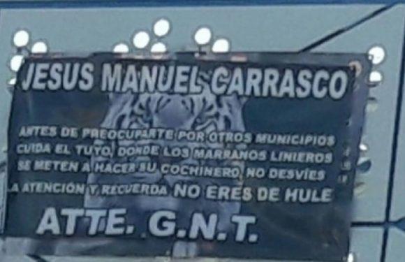 Cuauhtemoc | Dejan narco manta junto al IMSS