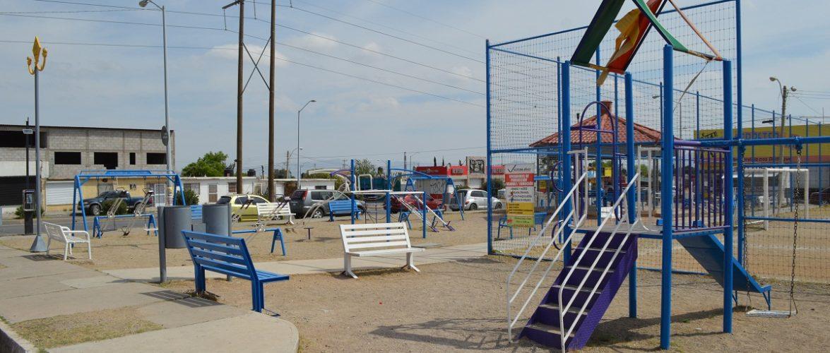 Gobierno Municipal atendió 26 parques y espacios públicos de la ciudad durante marzo