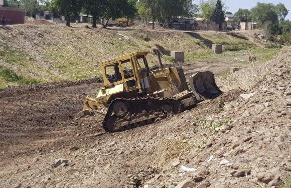 Cuauhtémoc | Realizan limpieza de arroyos previo a temporada de lluvias