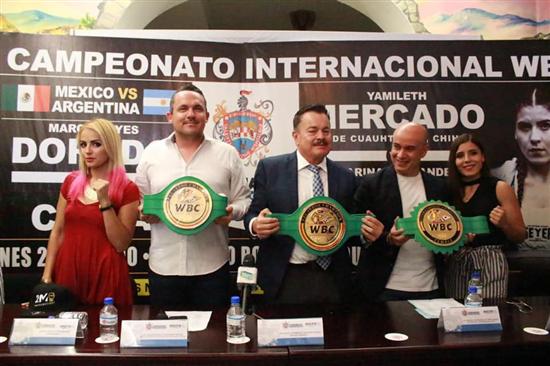 Chihuahua | Invitan a pesaje oficial del campeonato internacional en la Plaza de Armas