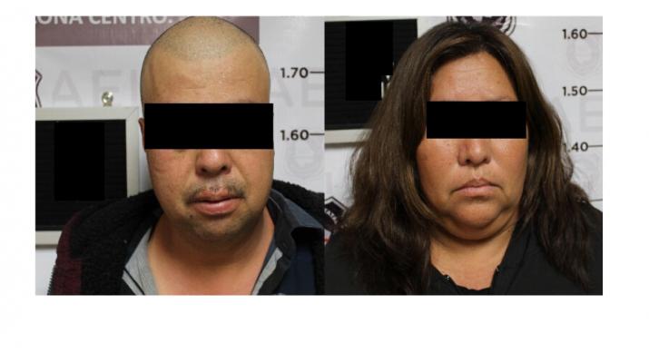 Vinculan a proceso a pareja detenida con droga y arma de fuego