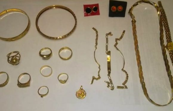AEI Zona Sur asegura en casa de empeño joyería robada