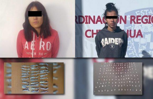 #Juarez | Detienen a dos presuntas narcomenudistas con mas de 180 dosis de cristal