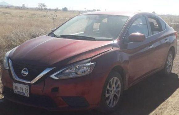 Cuauhtemoc   Asegura AEI vehículo abandonado con reporte de robo