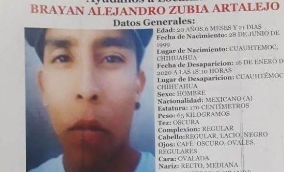 #Cuauhtémoc | Levantan a joven de 20 años en colonia los Alcaldes