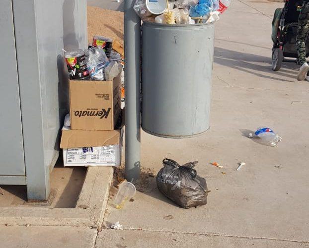 Corredor Vistas Cerro Grande se convierte en basurero publico