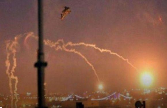 10 misiles iraníes impactan una base aérea estadounidense en Irak