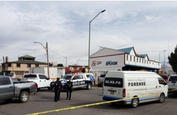 #Cuauhtémoc | Miercoles violento, asesinan a joven a fuera de autolavado