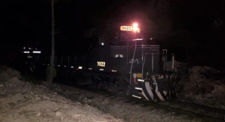 Muere arrollado por el tren en Bocoyna