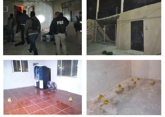 #Juárez | Catean casa donde asesinaron a un hombre