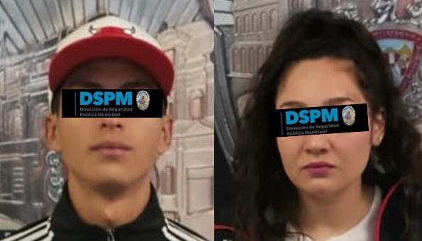 #Chihuahua | Policias municipaes detienen a pareja relacionada a varios asaltos
