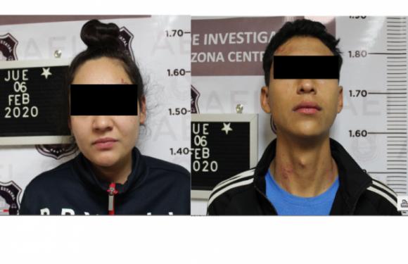 Inicia Fiscalía proceso judicial a pareja acusada de robos a establecimientos comerciales