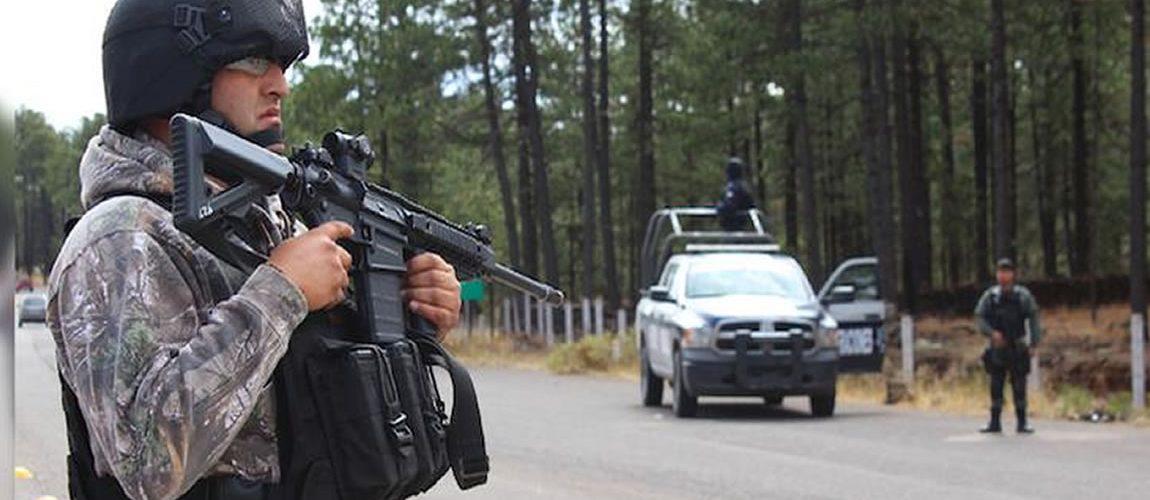 """#Madera   Capturan al hermano del """"Jaguar"""", traia un arsenal"""