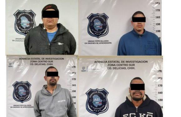 Delicias | Capturan a otros 4 implicados en asesinato de hombre en centro de rehabilitacion