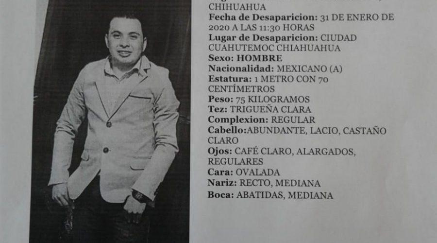 #Cuauhtémoc | Era Carlos Rubio el encobijado en la carretera Anahuac