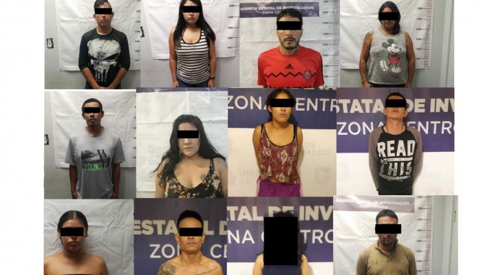 """Desarticula AEI a célula criminal de """"Los Mexicles"""""""