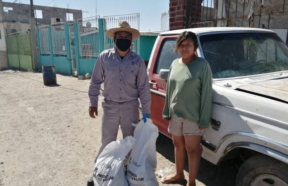 Gobierno de Chihuahua a traves de COEPI reparte mas de mil despensas a comunidades indigenas