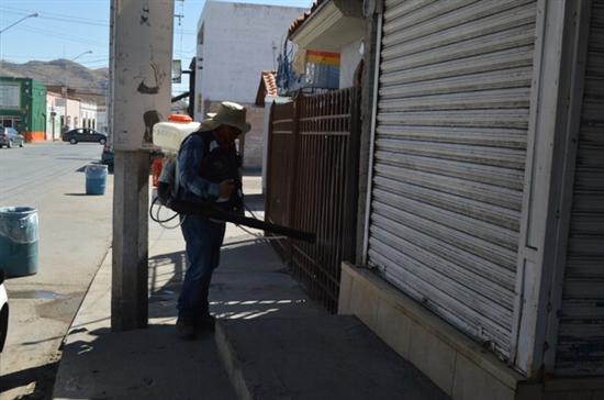 Mantiene Gobierno Municipal operativo diario de sanitización en espacios públicos