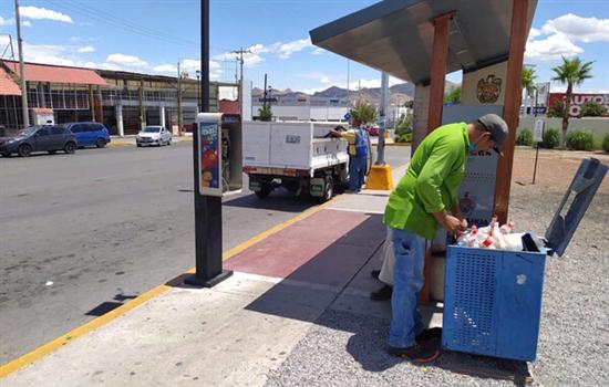 Mantiene Gobierno Municipal protocolo de limpieza y desinfección en primer cuadro de la ciudad