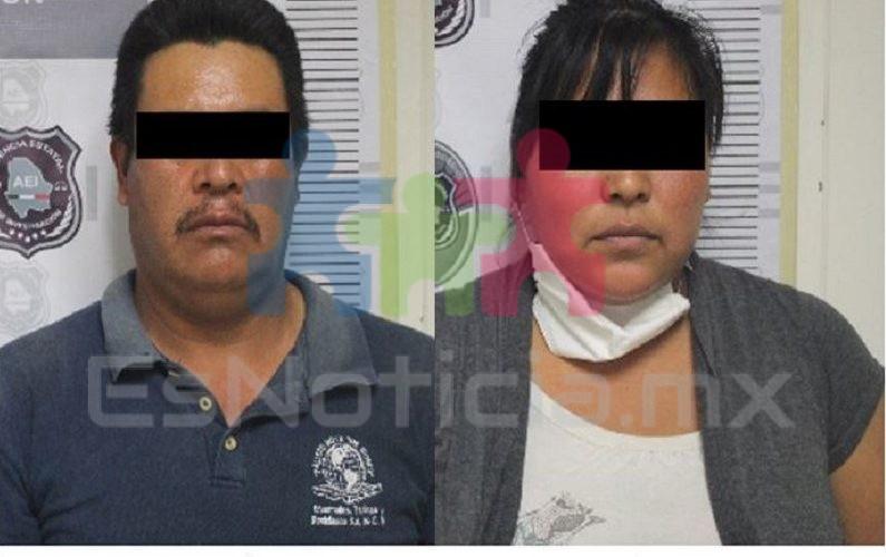 Detienen a madre y padrastro de niña de 9 años por abusar de ella