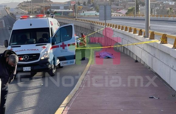 Motociclista pierde la vida en puente del R. Almada