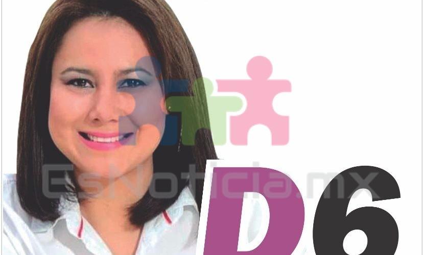 Heidi Segovia se registra como precandidata al D6 por Morena