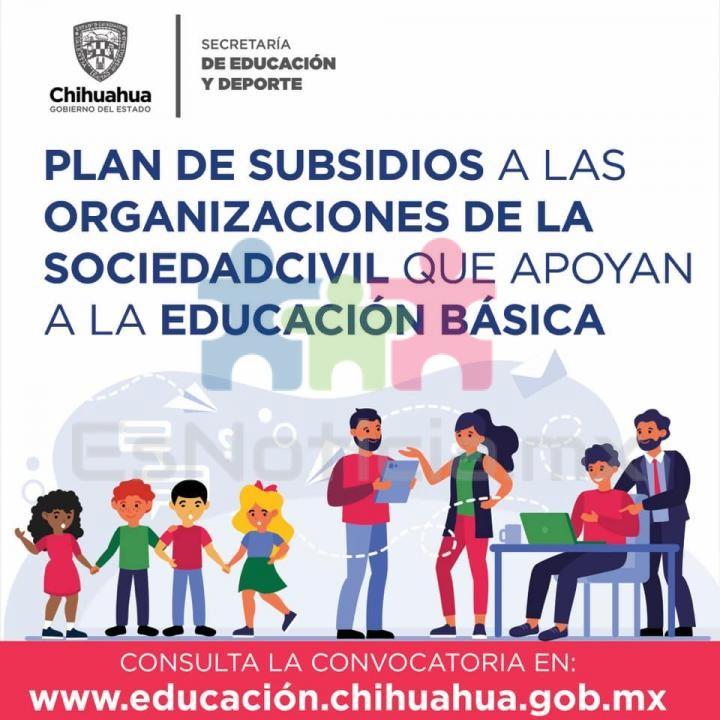Invita Educación a OSC´s a participar en convocatoria de subsidios