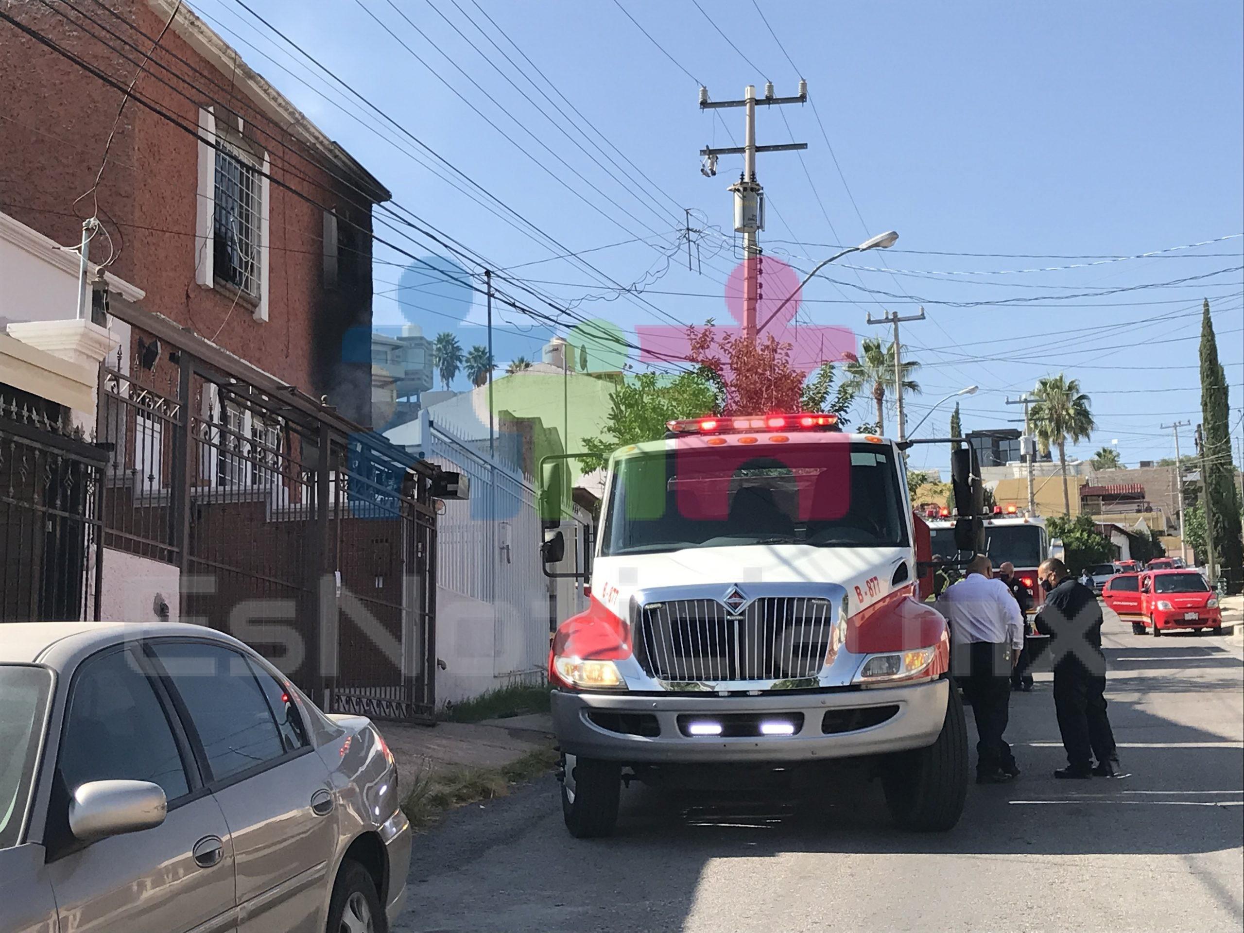 Se incendia vivienda por la avenida Mirador