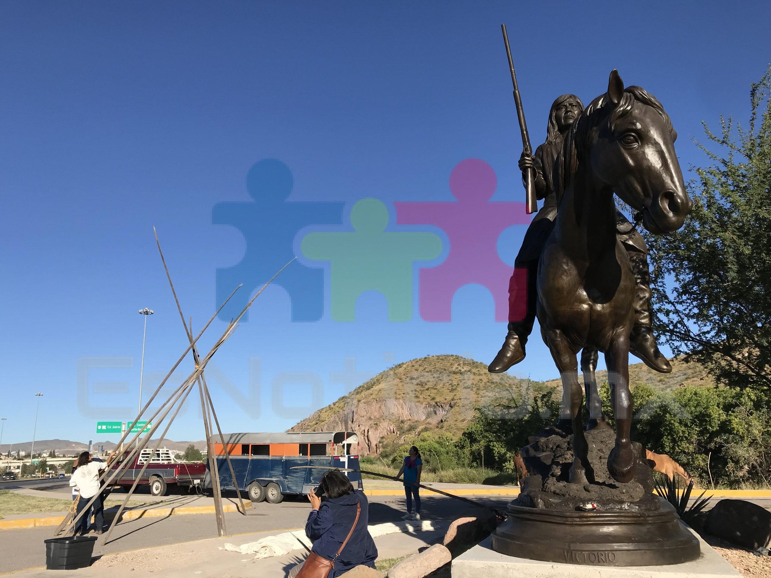 Conmemoran muerte del Indio Victorio